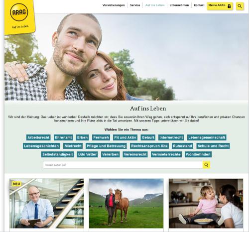 Arag Content Marketing