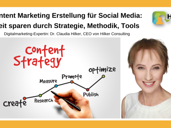 Content Marketing Strategie Methodik Tools