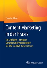 Buch Cover Content Marketing