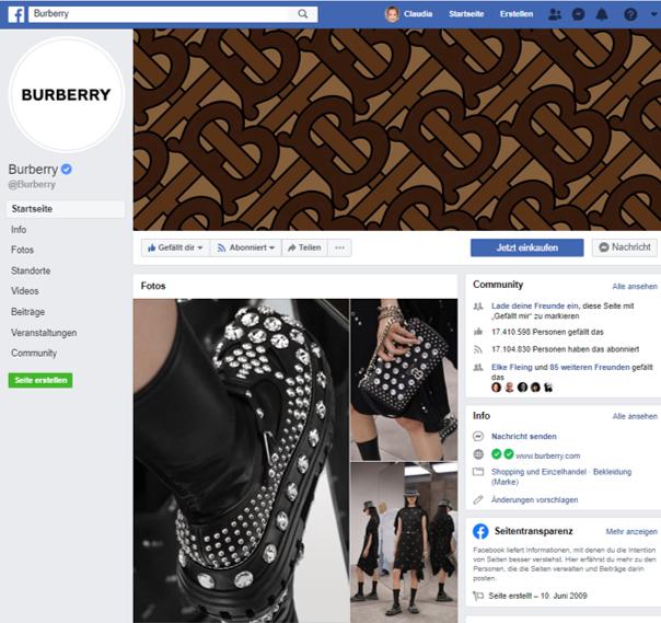 Burberry Facebook Fanpage-1