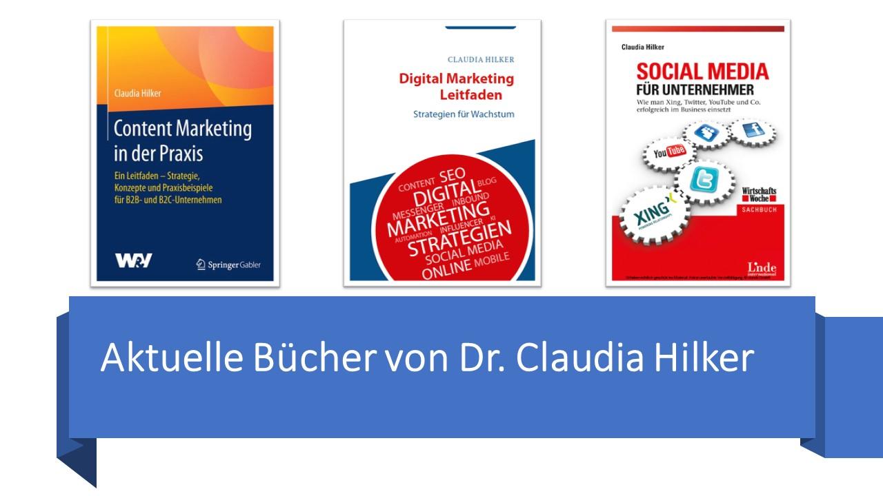Claudia Hilker Publikationen