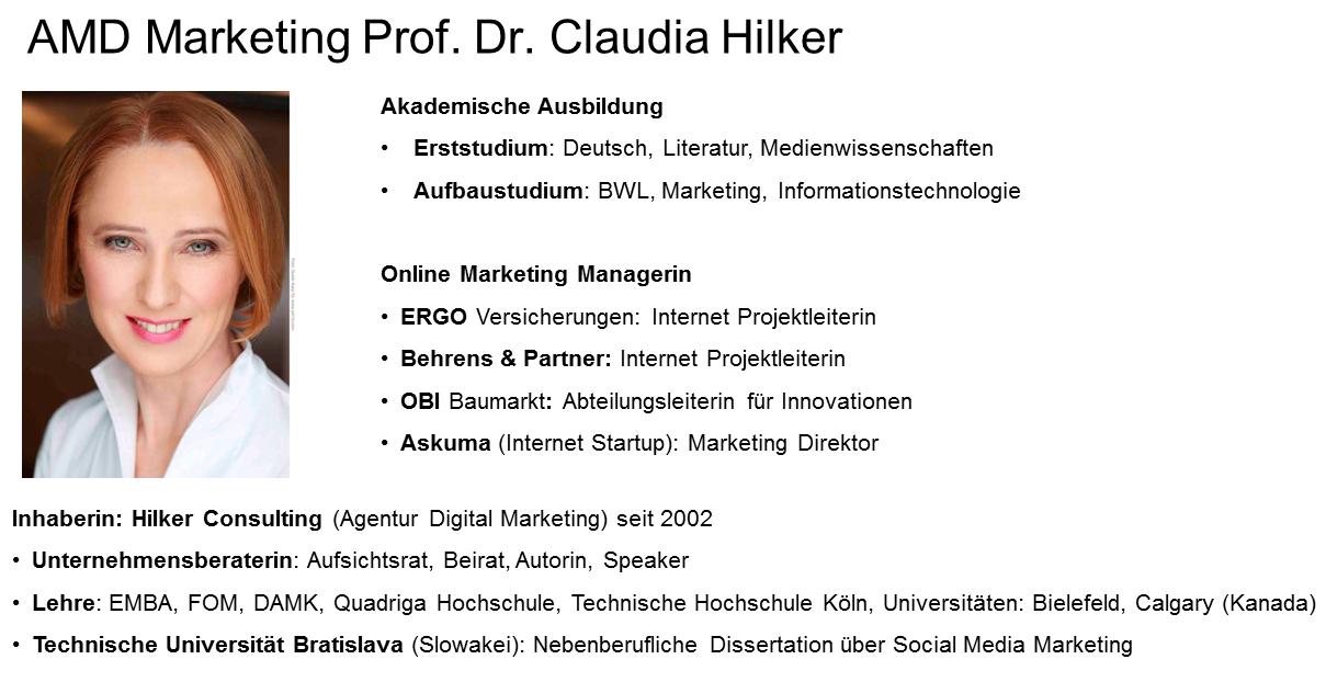 Claudia Hilker_Marekting Professorin