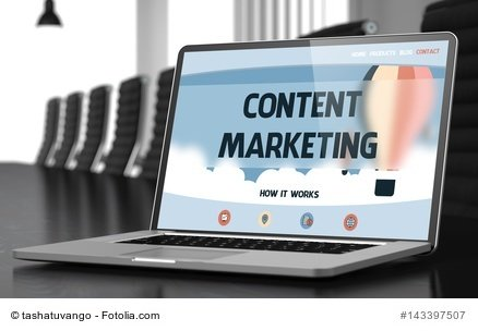 Content Marketing Grafik Praxis