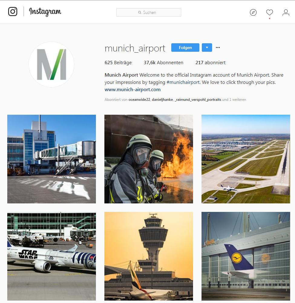 Content Marketing_Flughafen München_Instagram_Claudia Hilker