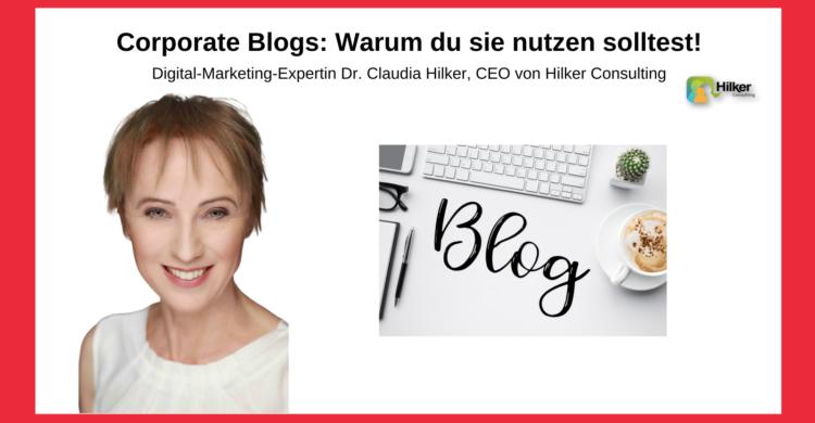 Warum corporate Blog nutzen