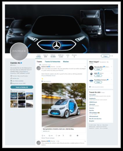Daimler Twitter