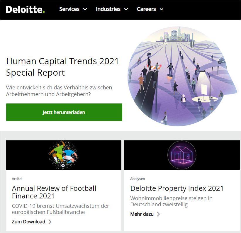 Deloitte B2B Content Marketing