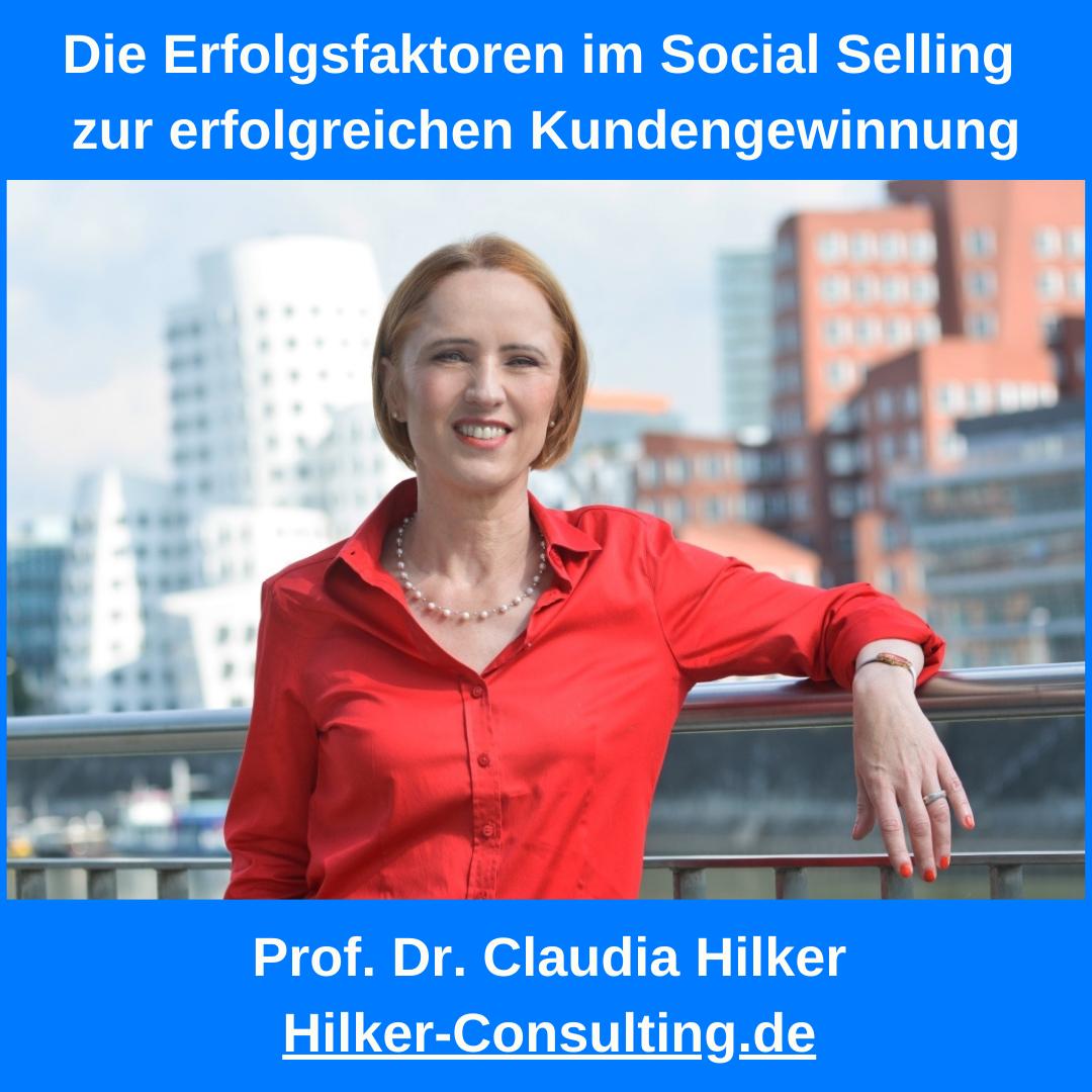 Erfolgsfaktoren im Social Selling zur erfolgreichen Kundengewinnung