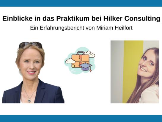 Einblicke Arbeitwelt Digital Marketing Hilker Consulting