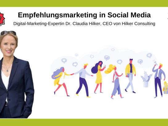 Empfehlungen Social Media Martketing