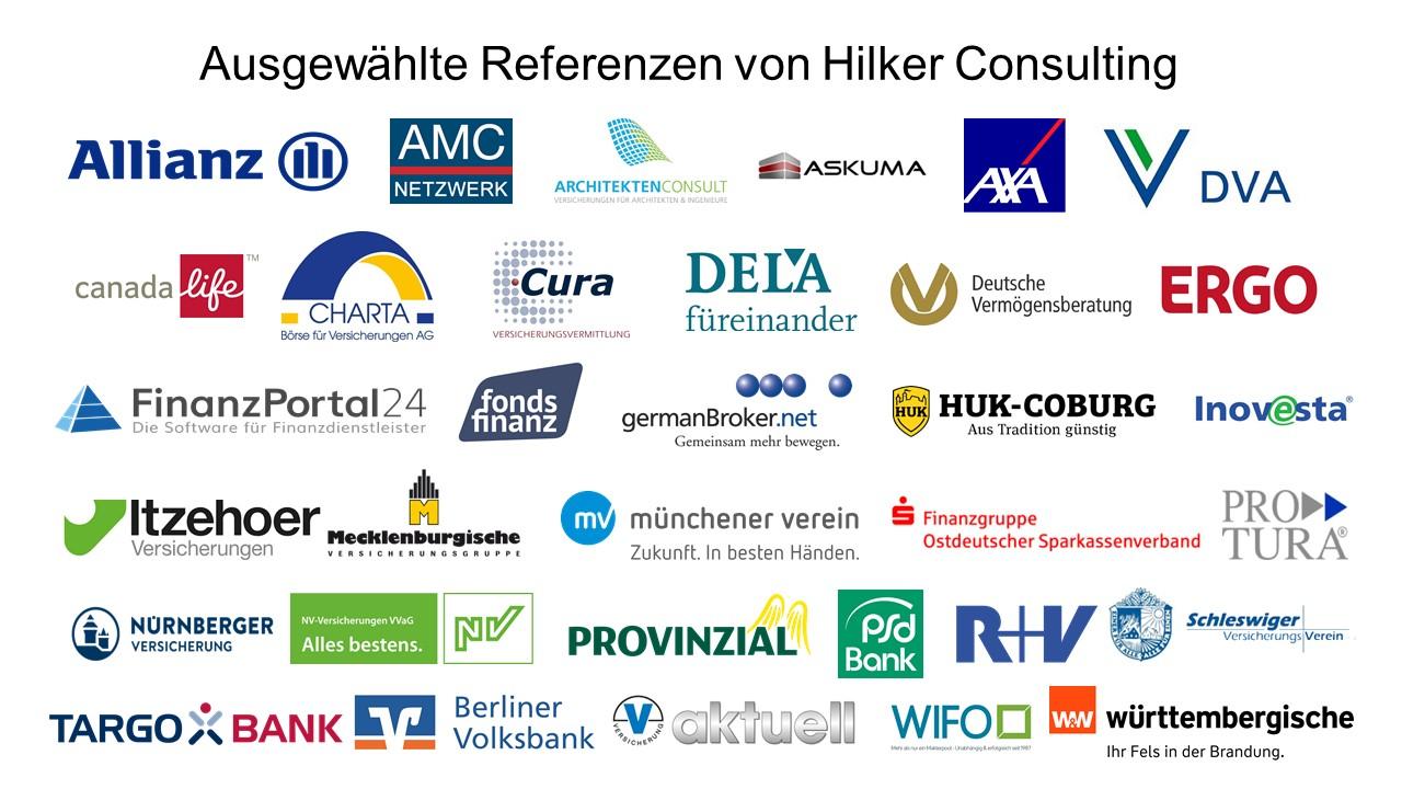 Hilker Consulting Referenzen