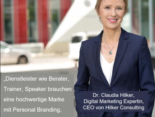 Marketing Expertin Dr. Claudia Hilker