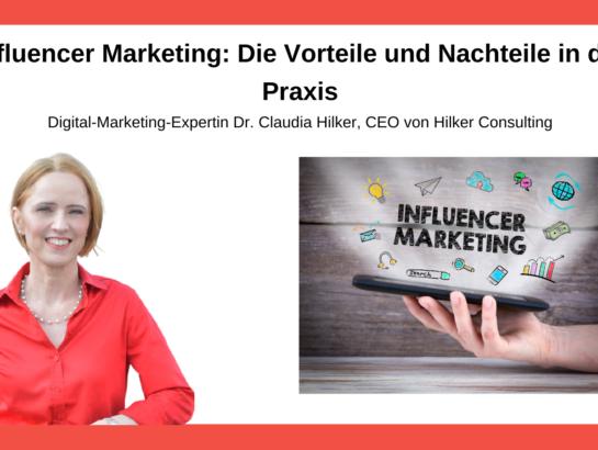 Influencer Marketing Vorteile