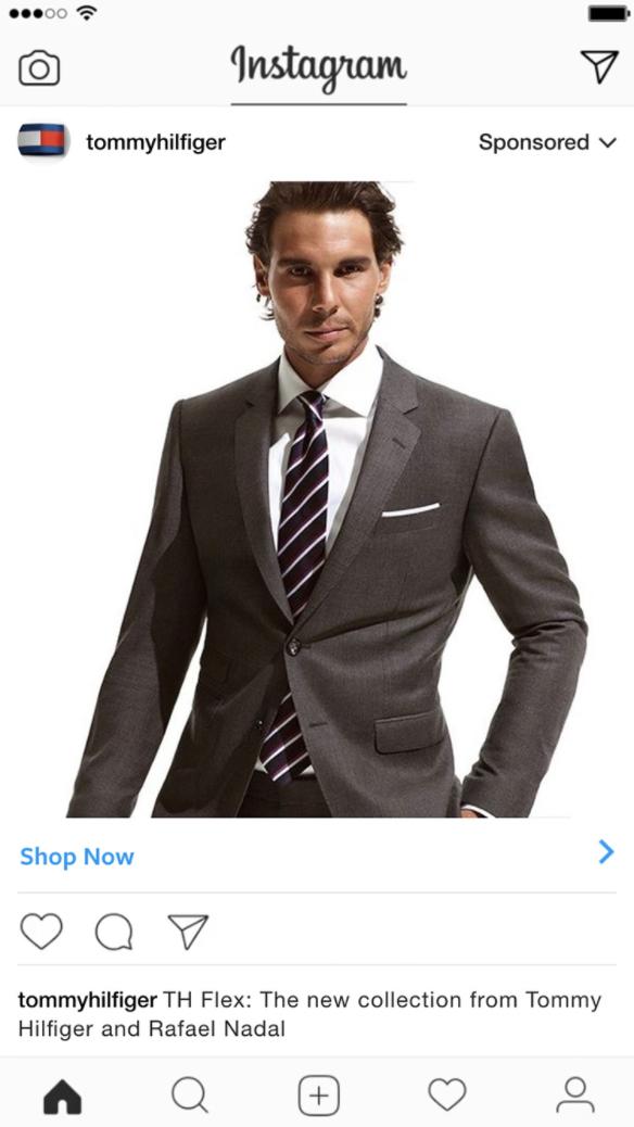 Instagram Tommy Hilfiger Fashion Marketing