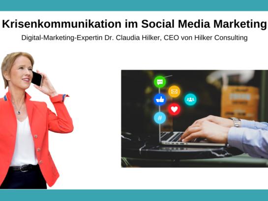 Krisenkommunikation Social Media