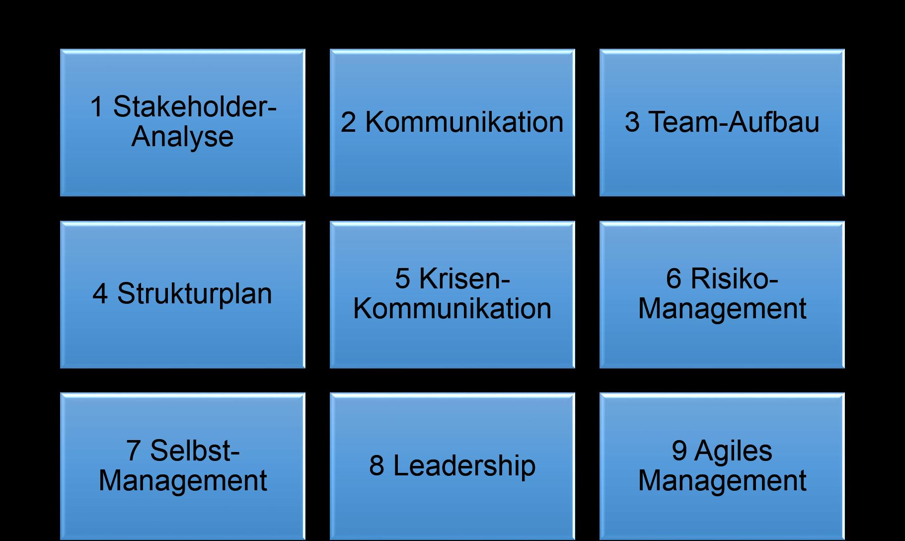 Leitfaden für Projekt Management von Claudia Hilker
