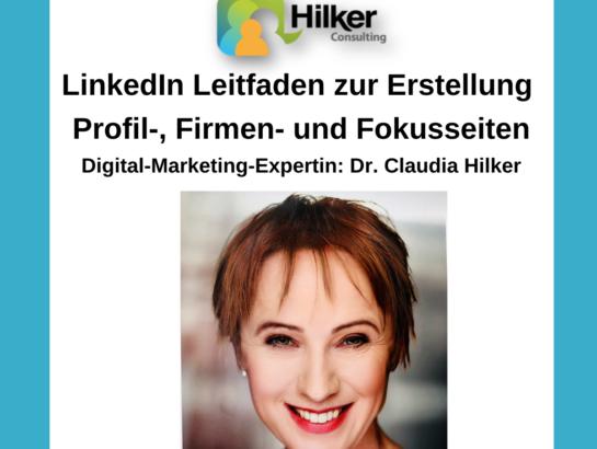 Leitfaden LinkedIn Seiten