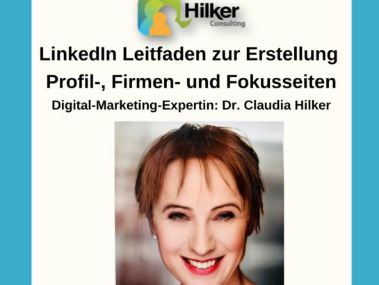 LinkedIn Leitfaden Profile erstellen