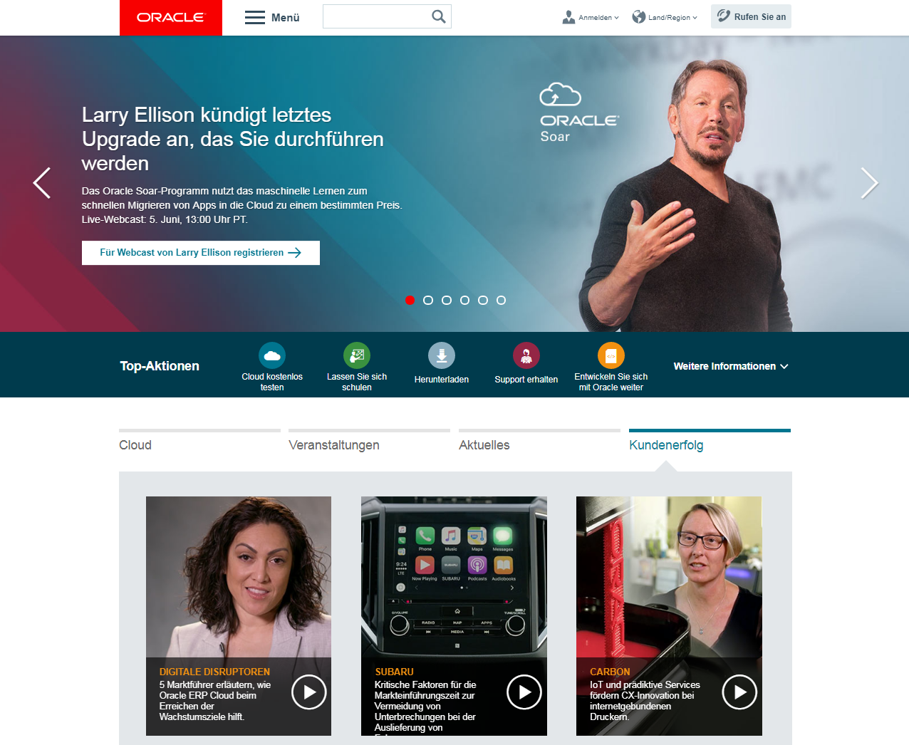 Oracle Website Dialog Partner
