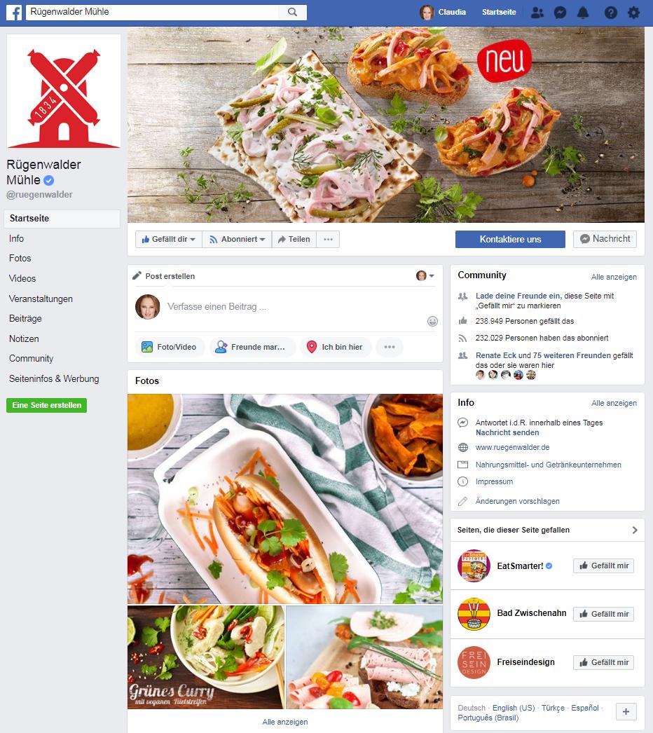 Rügenwalder Mühle: Social-Media-Marketing Best-Practice-Beispiele
