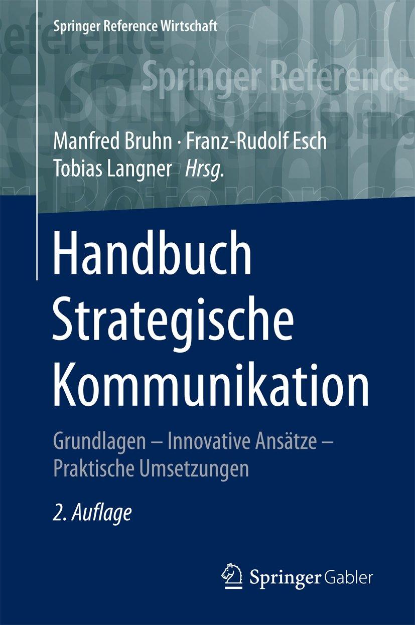 Buchcover Handbuch Strategische Kommunikation