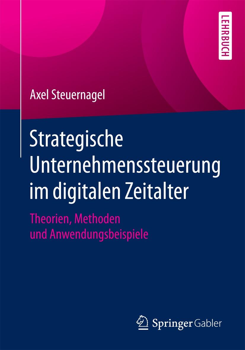 Buchcover Strategische Unternehmenssteuerung im digitalen Zeitalter