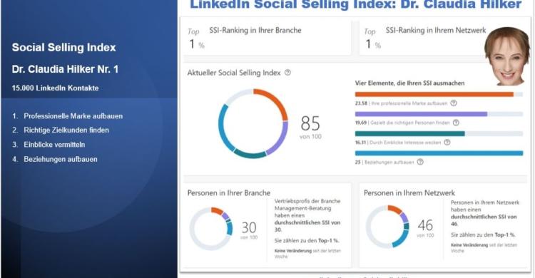 LinkedIn Challenge_SSI Index_Social Selling Index_Claudia Hilker