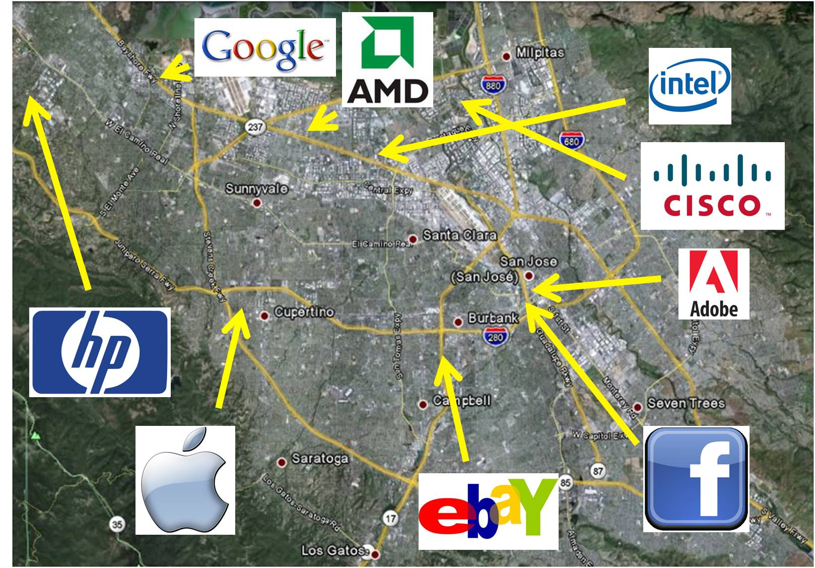 Silicon Valley Unternehmer Reise