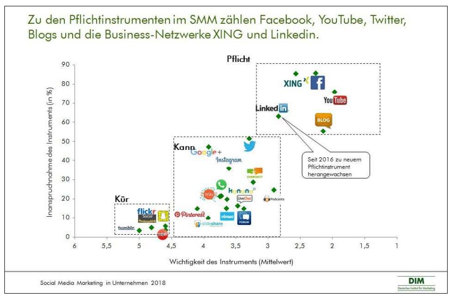Social Media Marketing Studie_DIM 2018