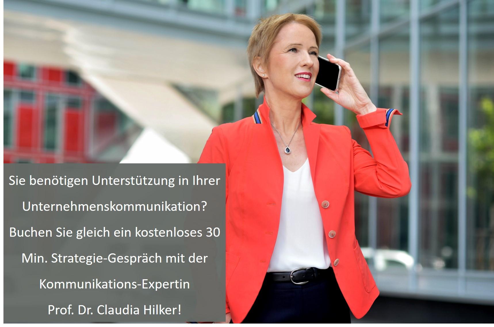 Unternehmenskommunikation Claudia Hilker
