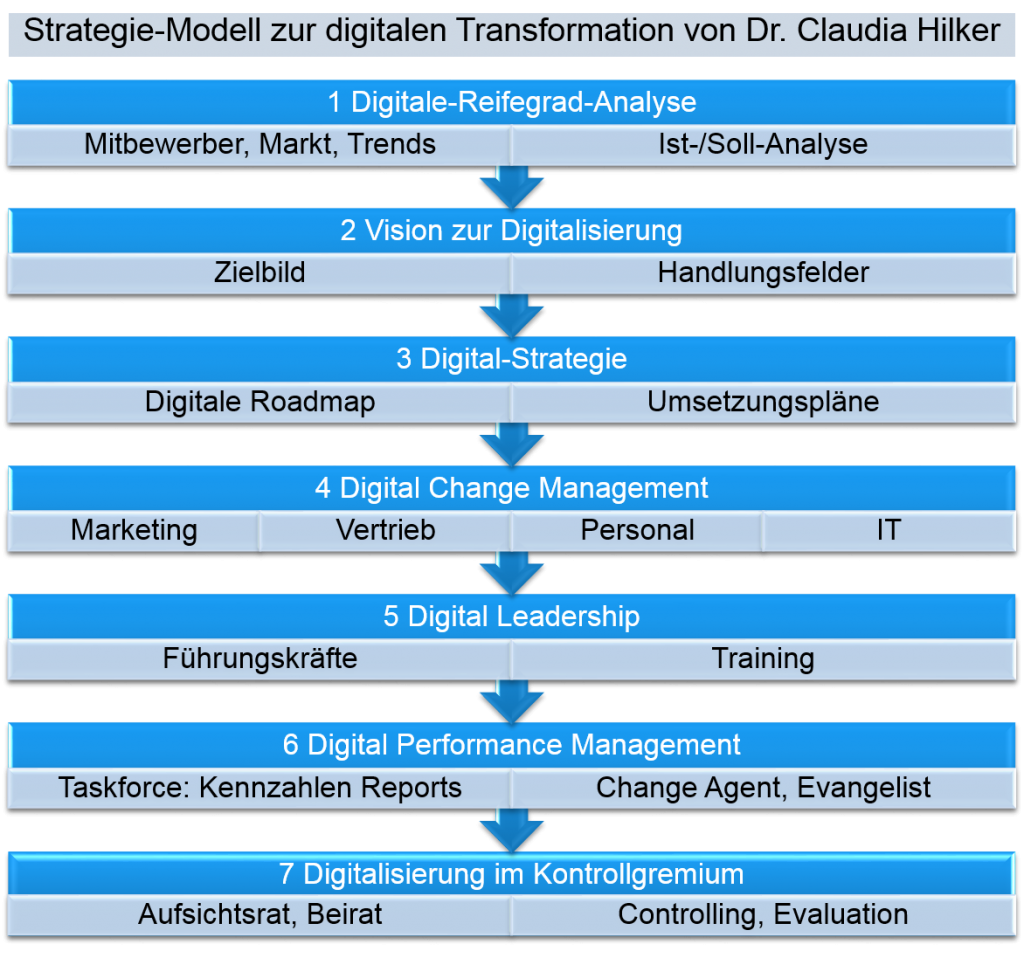 Strategie Modell_digitale Transformation