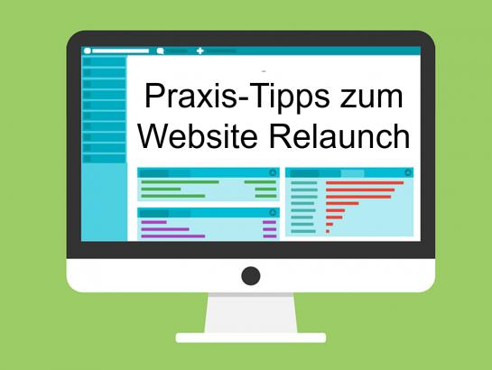 Website Relaunch Tipps