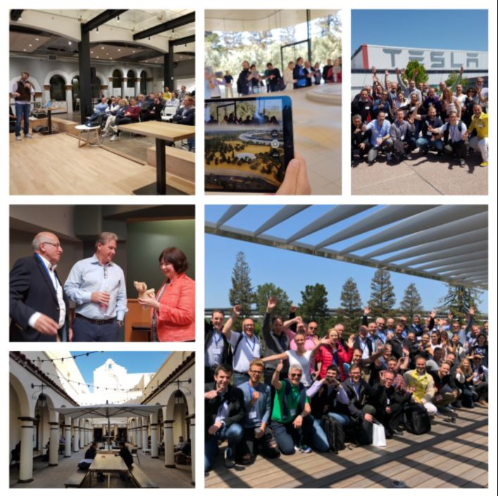 Apple Tesla Besuch Silicon Valley