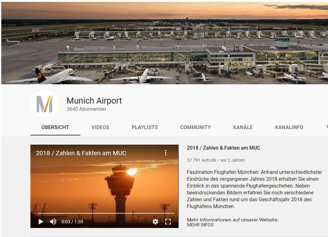 Flughafen München Youtube