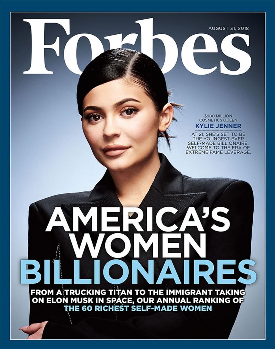 forbes kyle Jenner