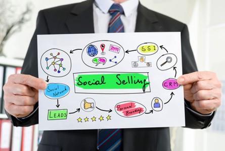 social selling infografik